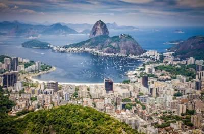 Rio de Janeiro au Brésil, vue sur Coppa Cabana