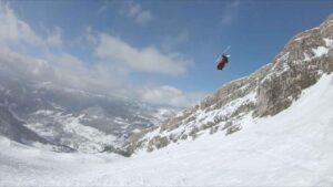 Candidde Thovex, a bit of skiing