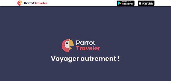 parrot traveler, pour un voyage authentique